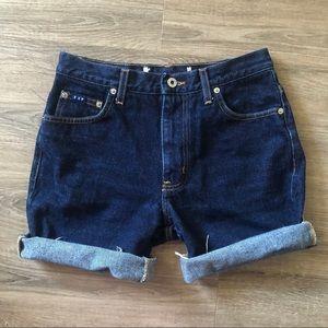 5/$10! Vintage Express denim cutoff shorts DIY